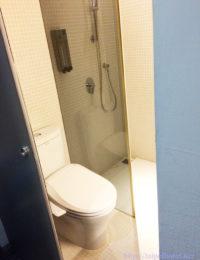 ジャストスリープのトイレはウォシュレット付き