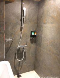 エアコンやシャワー・バスタブ、トイレなど日本製が使われている。